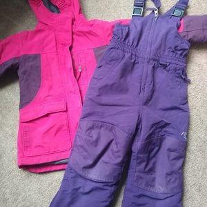 Land's End Coat & Snow Pants